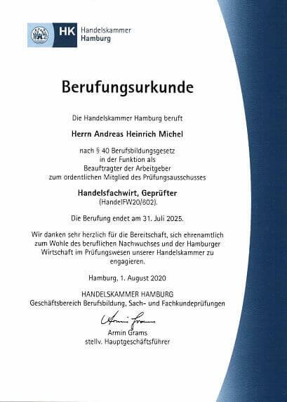 Handelsfachwirt mündliche Prüfung Präsentation Fachgespräch Präsentationsprüfung IHK