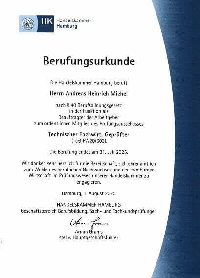 Technischer Fachwirt mündliche Prüfung Präsentation Fachgespräch Präsentationsprüfung IHK