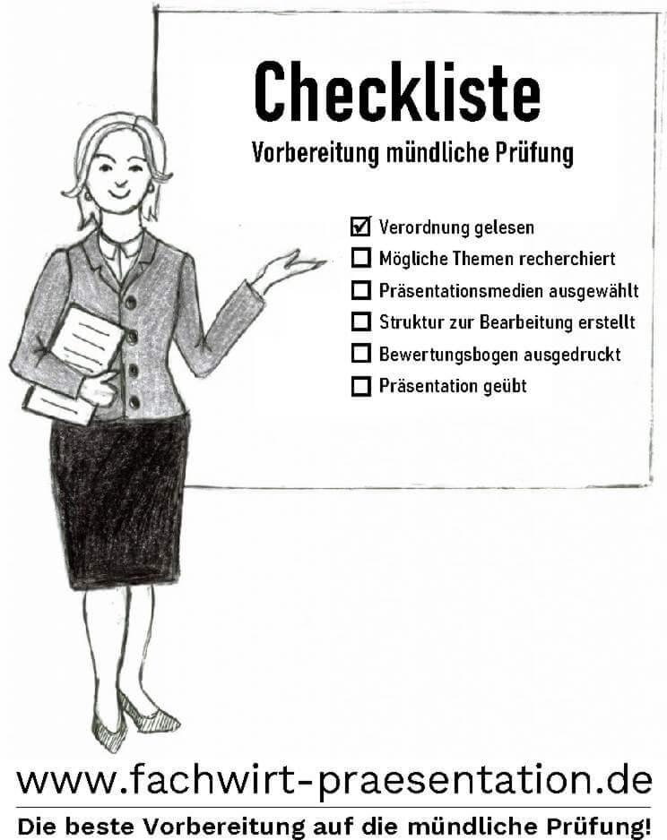 Vorbereitung mündliche Prüfung Präsentationsprüfung Mündliche Prüfung