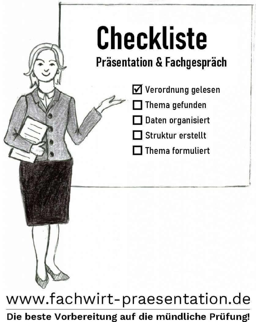 Vorbereitung Präsentation Fachgespräch mündliche Prüfung