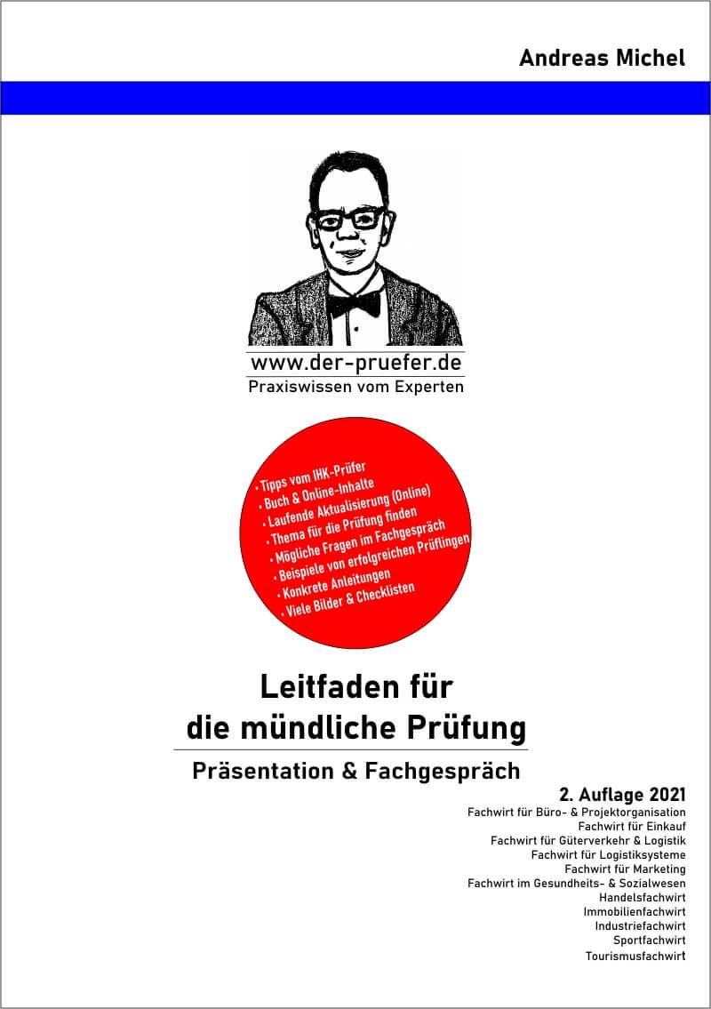 Buch Online-Inhalte mündliche Prüfung Präsentation Fachgespräch